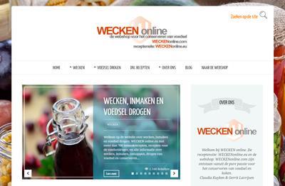Onze receptensite: WECKENonline.eu